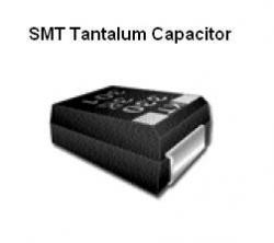 SMT Tantalum Capacitor - 33uF @ 10v Nichicon