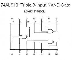 74ALS10 Triple 3-Input NAND Gate
