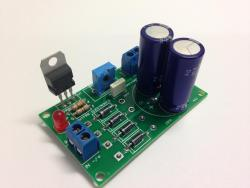 1.5 Amp Adjustable Power Supply Kit - LM317T (#5352)
