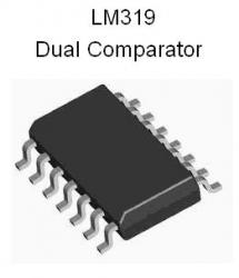 LM319 SMT Dual High-Speed Comparator