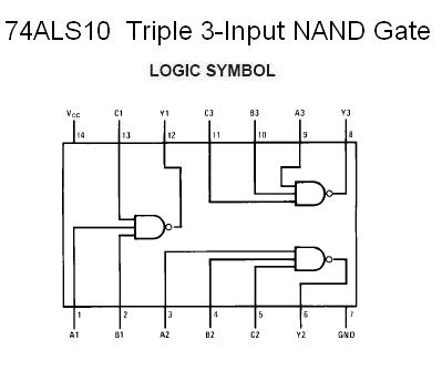 Building A Small 10w Stereo  lifier Using Tda2004 additionally Lm833n Audio Op   Kit 1535 further 74als10 Triple 3 Input Nand Gate further Tut reguladores tension monoliticos moreover Mag ic Buzzer Circuit Um66. on and ic datasheet